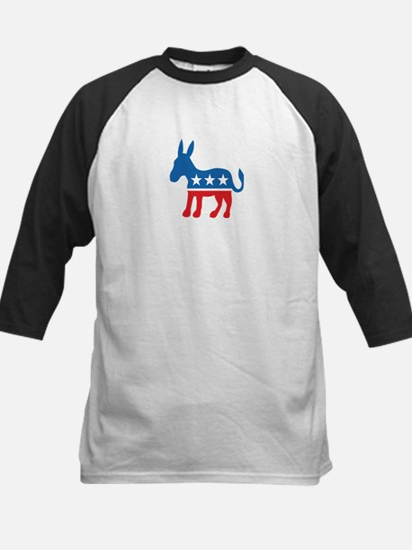Democratic Donkey Democrat Kids Baseball Jersey
