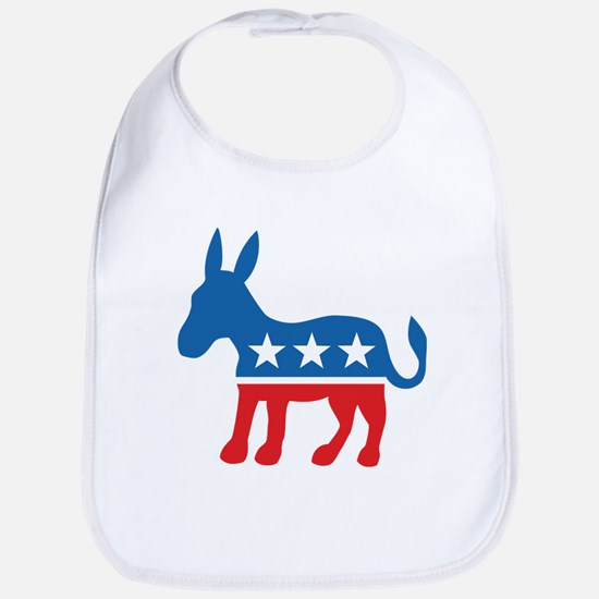 Democratic Donkey Democrat Bib