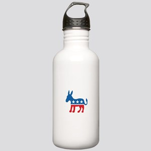 Democratic Donkey Democrat Stainless Water Bottle