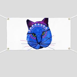 Super Star Kitty Banner