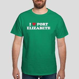 I Love Port Elizabeth Dark T-Shirt