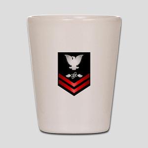 Navy PO2 Aviation Electronics Tech Shot Glass