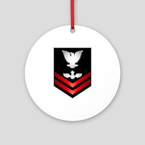Navy PO2 Aviation Ordnanceman Ornament (Round)