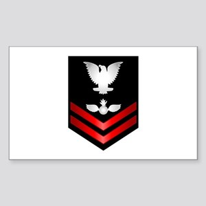 Navy PO2 Aviation Ordnanceman Sticker (Rectangle)
