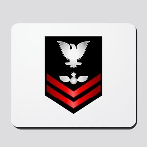 Navy PO2 Aviation Ordnanceman Mousepad