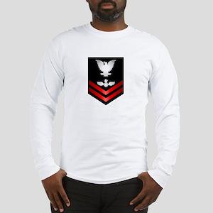 Navy PO2 Aviation Ordnanceman Long Sleeve T-Shirt