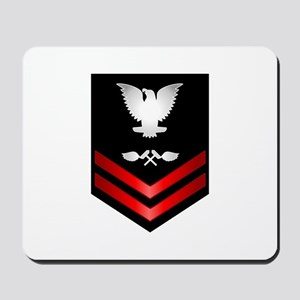 Navy PO2 Aviation Structure Mechanic Mousepad