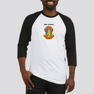 Fort Jackson with Text Baseball Jersey