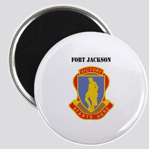 Fort Jackson with Text Magnet