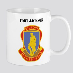 Fort Jackson with Text Mug