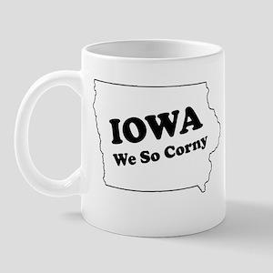 Iowa, We so corny Mug