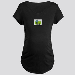 Dog Maternity Dark T-Shirt