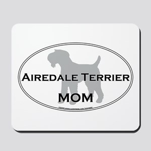 Airedale Terrier MOM Mousepad