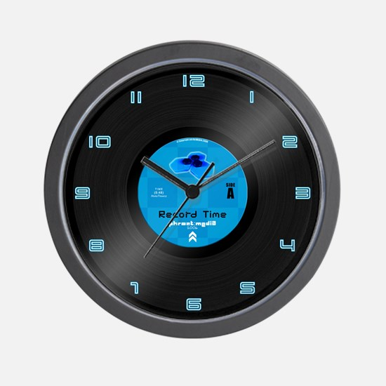 phr0ztMEDIA Vinyl Record Clock