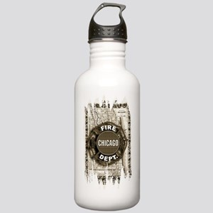 Chicago-21 Stainless Water Bottle 1.0L