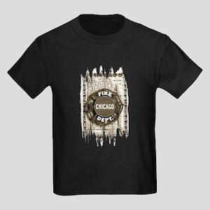 Chicago-21 Kids Dark T-Shirt