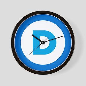 Democratic Wall Clock