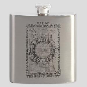 Chicago-24-BLACK Flask
