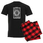 Chicago-24-BLACK Men's Dark Pajamas