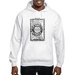 Chicago-24-BLACK Hooded Sweatshirt