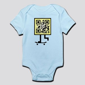 Keep on pushing qr-code Infant Bodysuit