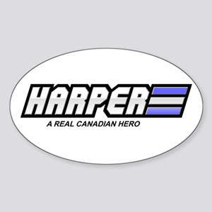 Harper Oval Sticker