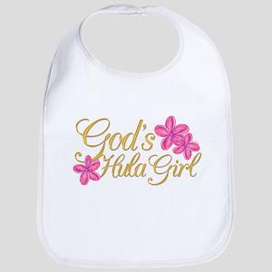 God's Hula Girl Bib