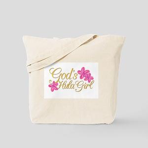God's Hula Girl Tote Bag