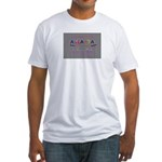 Modern Atlanta Peach of the S Fitted T-Shirt