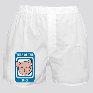 Year of The Pig Boxer Shorts