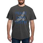 Peace Love Faith Mens Comfort Colors Shirt