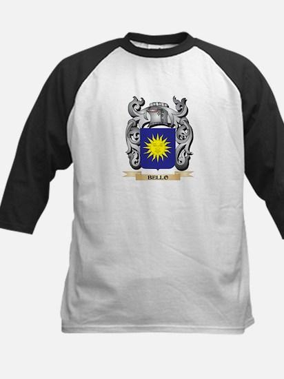 Bello Family Crest - Bello Coat of Baseball Jersey