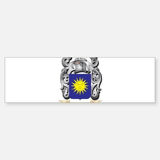 Bello Family Crest - Bello Coat of Bumper Bumper Bumper Sticker