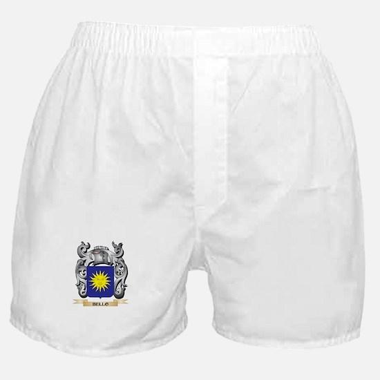 Bello Family Crest - Bello Coat of Ar Boxer Shorts
