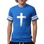 White Cross Mens Football Shirt