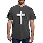 White Cross Mens Comfort Colors Shirt