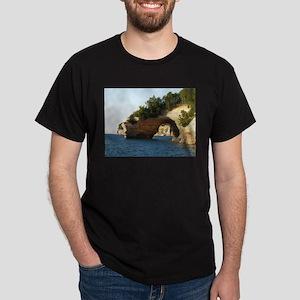 Pictured Rocks Dark T-Shirt