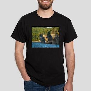 Pictured Rocks A Dark T-Shirt