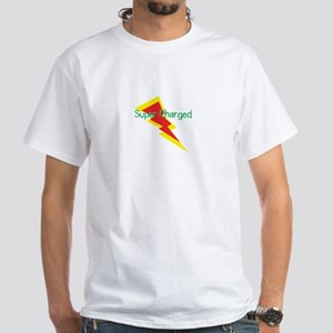 Super Charged White T-Shirt