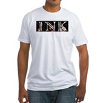 INKMUSIC.NET Fitted T-Shirt
