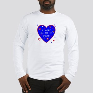 Fourth of July Long Sleeve T-Shirt