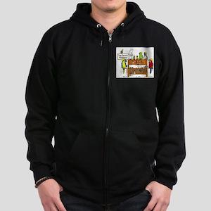 The Parrot's Workshop Logo Zip Hoodie (dark)