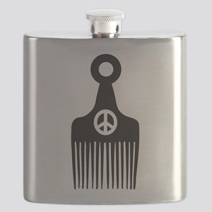 Afro Hair Peace Flask