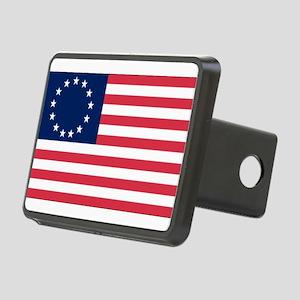 Betsy Ross flag Rectangular Hitch Cover