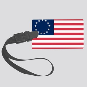 Betsy Ross flag Large Luggage Tag