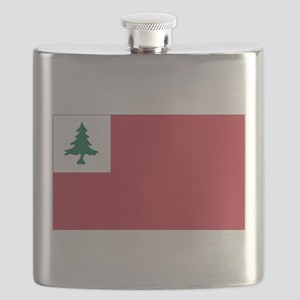 Continental Flag Flask