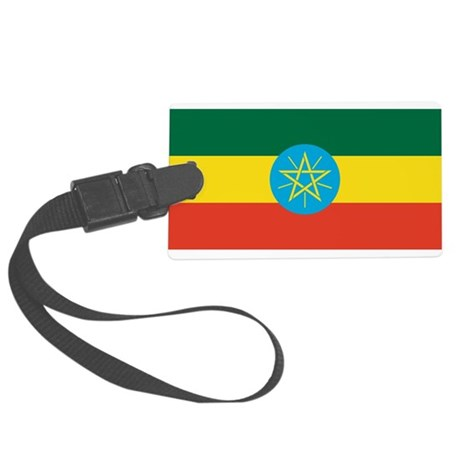 Ethiopia.svg.png Large Luggage Tag
