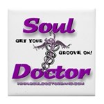 Soul Doctor Tile Coaster