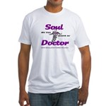 Soul Doctor Fitted Tee Shirt (White)