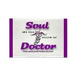 Soul Doctor Rectangle Magnet